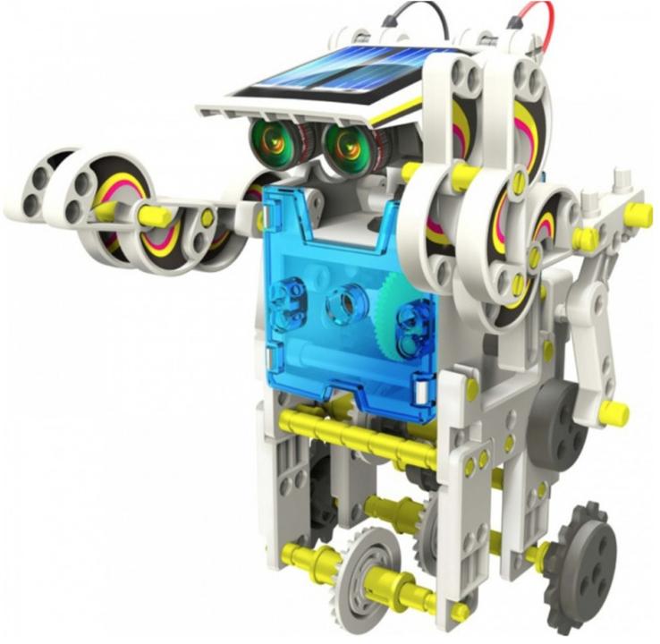 Конструктор - робот 14 в 1 на солнечных батареях., фото №7