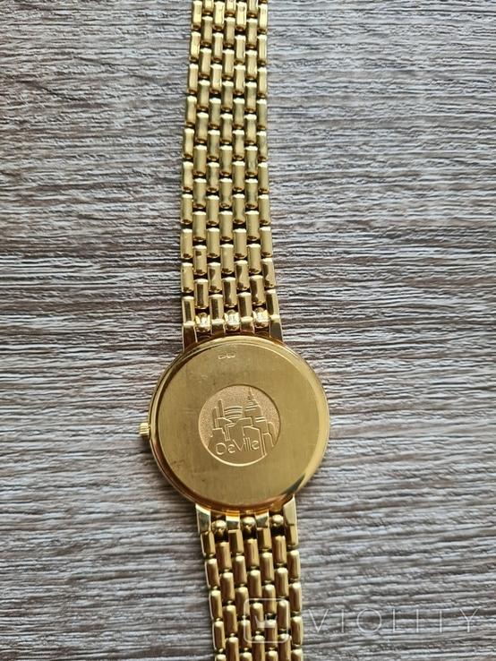 Золотий годинник Omega De Ville, фото №7