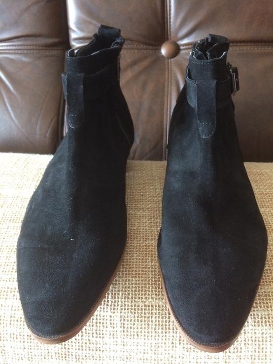 Ботинки topman замша, фото №4
