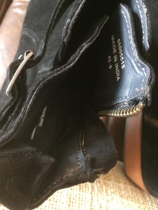 Ботинки topman замша, фото №7