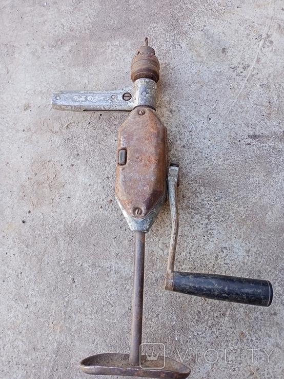Ручная дрель 3, фото №2