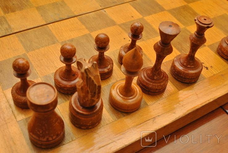 Шахматы большие 1973г. Некомплект, фото №3