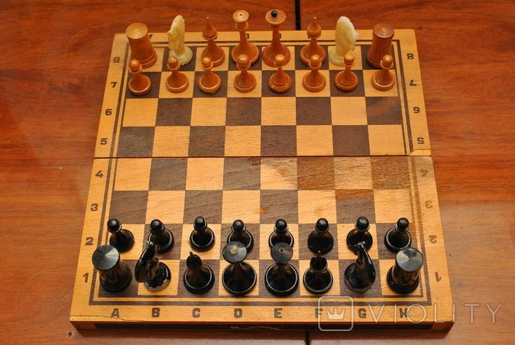 Шахматы небольшие СССР, фото №2