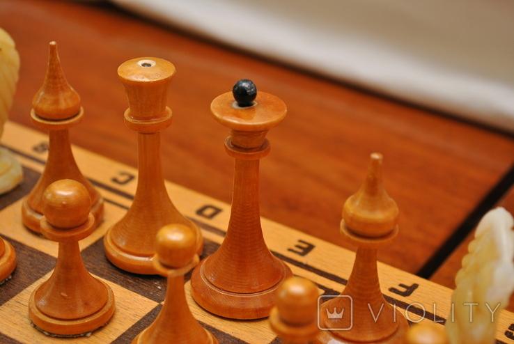 Шахматы небольшие СССР, фото №7