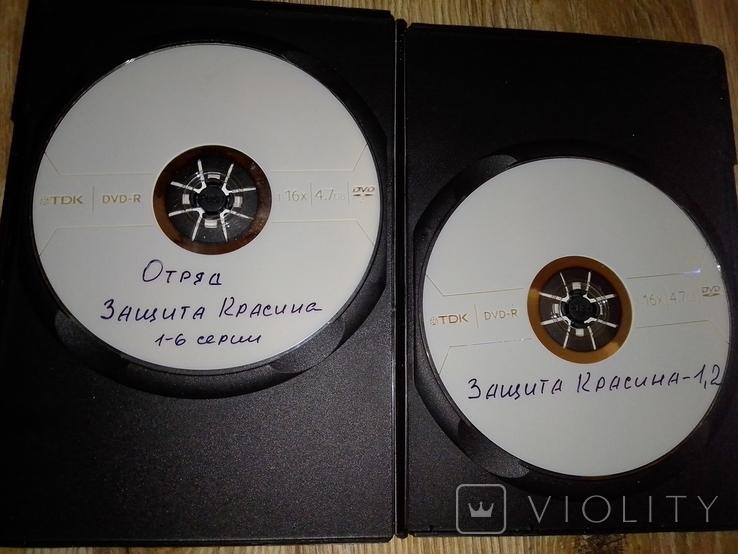 Подборка dvd дисков с сериалами, фото №10