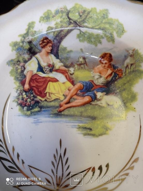 Набор з 12 тарілок Коростенський фарфор, фото №6
