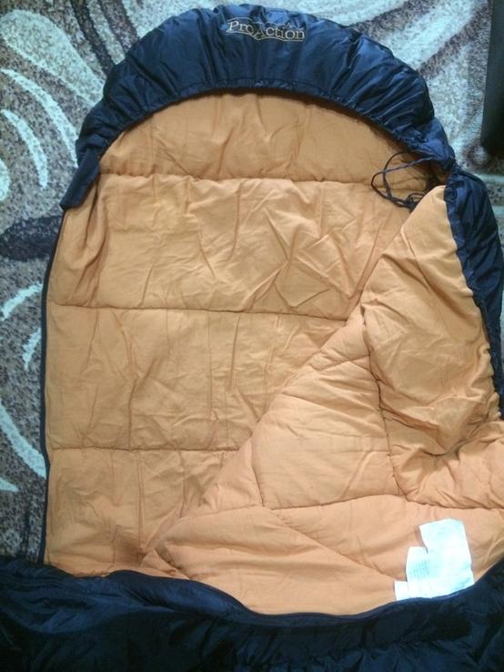 Спальный мешок pro action, фото №5