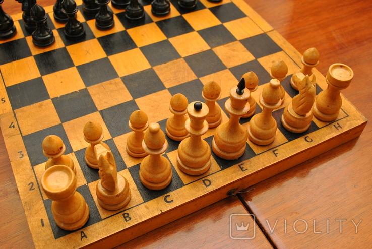 Шахматы небольшие СССР (без одной пешки), фото №4