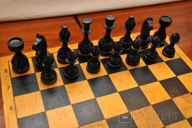 Шахматы небольшие СССР (без одной пешки), фото №5