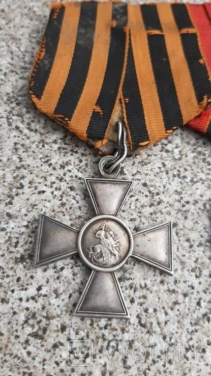 Георгиевский крест 4 ст. и медаль За Русско-Японскую войну, фото №4