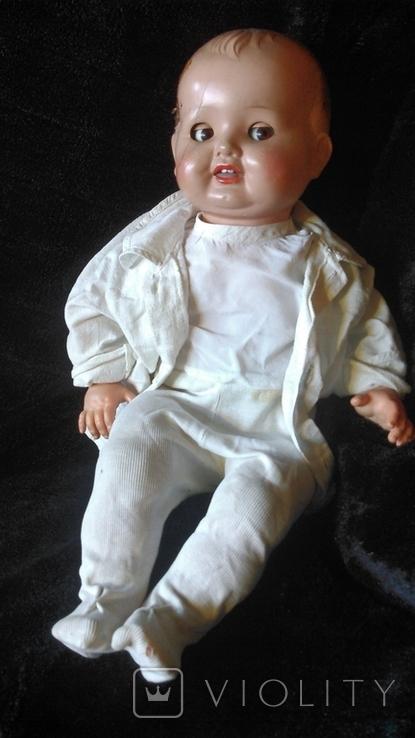 Кукла мягконабивная (опилки) с зубками. Флиртует, фото №2