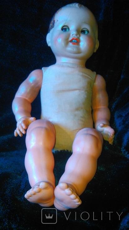 Кукла мягконабивная (опилки) с зубками. Флиртует, фото №3