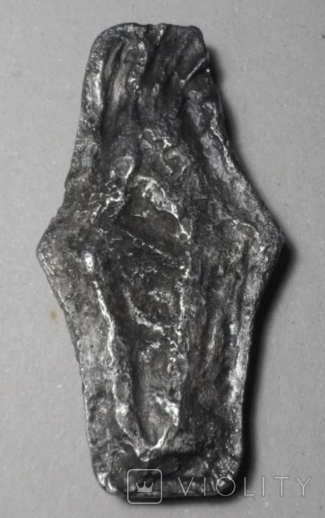 Украина гривня Київського типу гривна Киевского типа монета Киев копия тип 2, фото №5