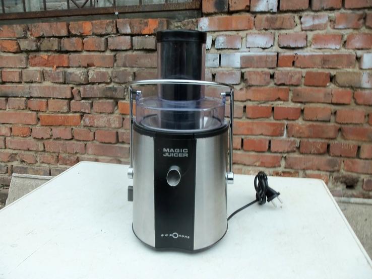 Соковижималка електро MAGIC JUICER 500 W з Німеччини, фото №4