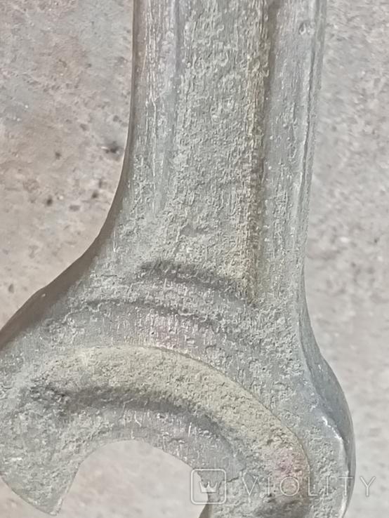 Старий бронзовий ключ, фото №9