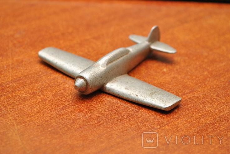 Модель самолета из дюралюминия. Ручная работа, фото №2