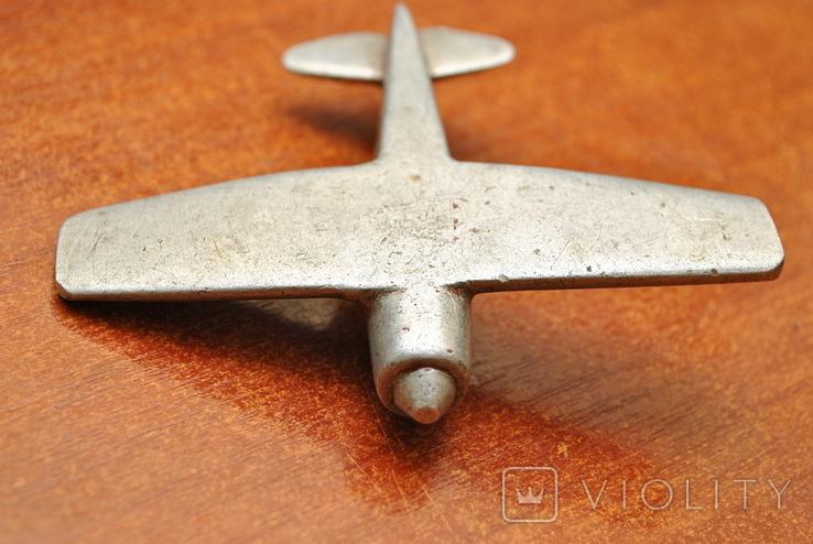 Модель самолета из дюралюминия. Ручная работа, фото №6