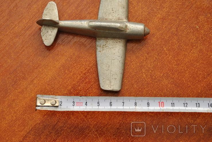 Модель самолета из дюралюминия. Ручная работа, фото №8