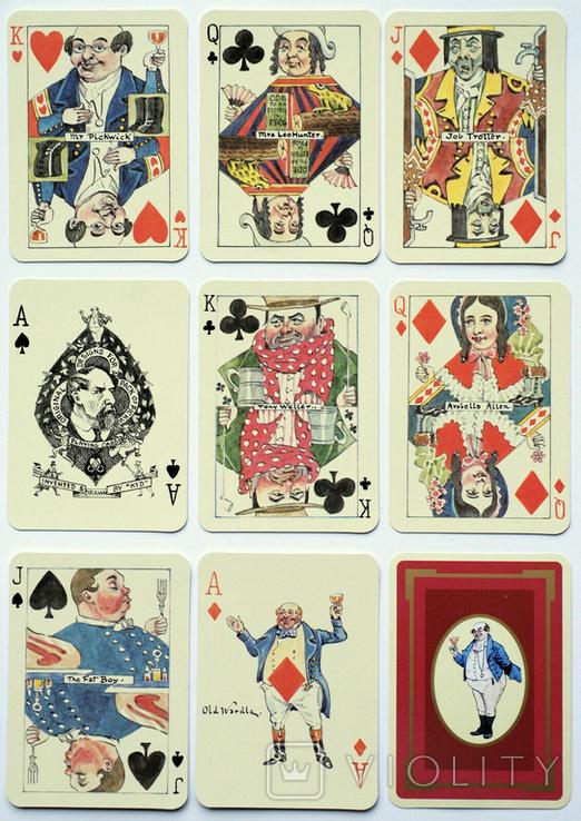 Игральные карты 'PICKWICK', 1984 г., фото №2