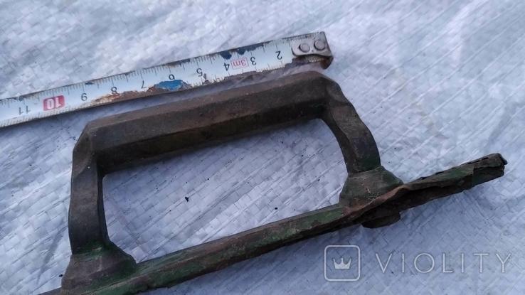 Латуневая ручка, фото №13