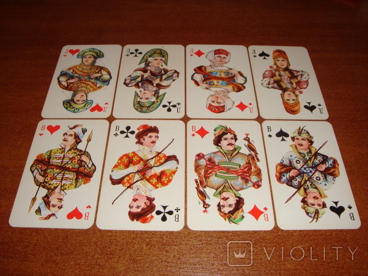 Игральные карты Русский стиль, 1988 г., фото №4