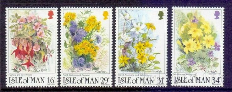 О-и Мэн 1987 цветы