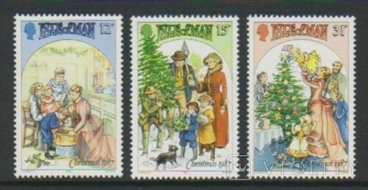 О-в Мэн 1987 Рождество