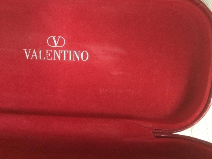 Футляр для очков valentino металл обтянут кожей, фото №6