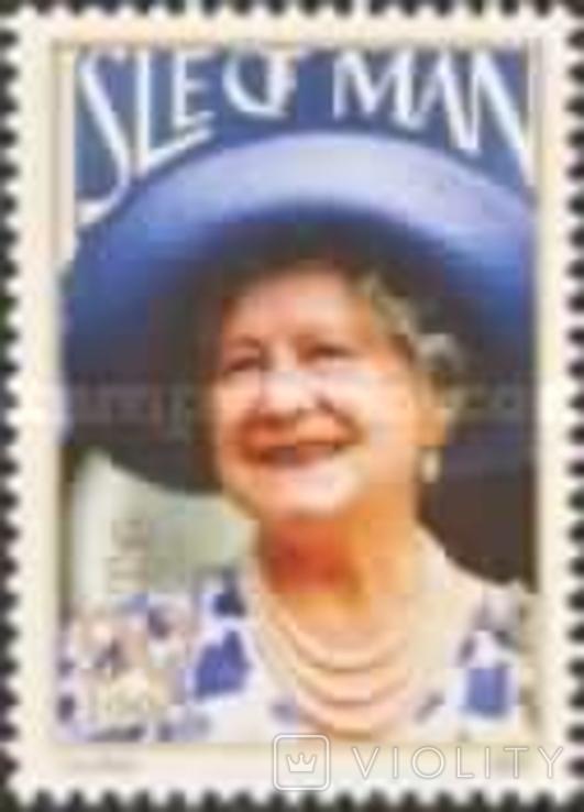 О-в Мэн 1990 королева мать