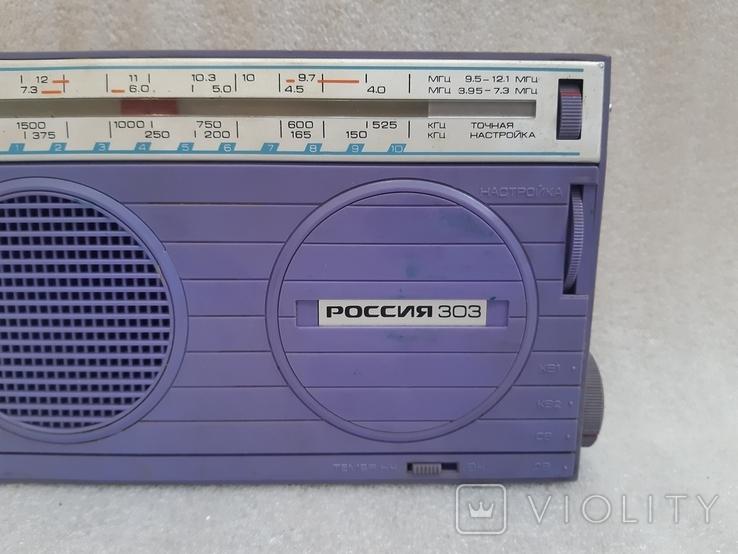 Радиоприемник Россия-303, фото №3