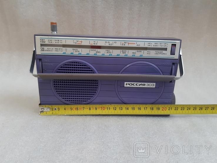 Радиоприемник Россия-303, фото №10