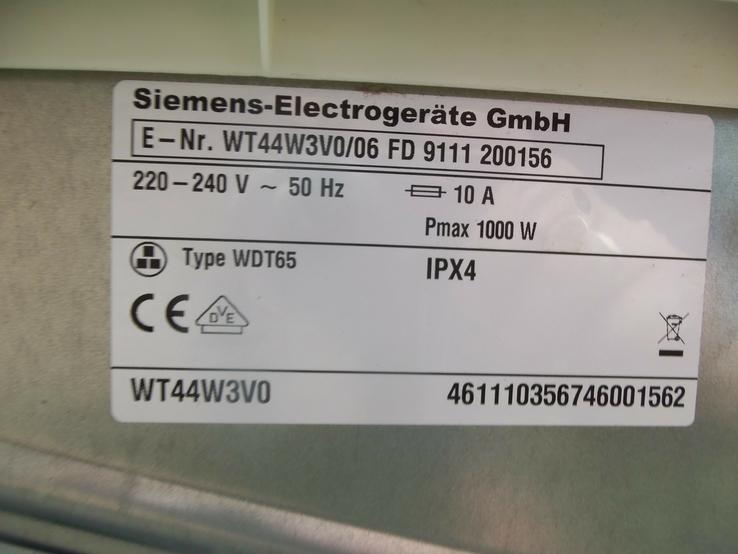 Cушильна машина SIEMENS blue term IQ 500 7 кг з тепловим насосом з Німеччини, фото №12