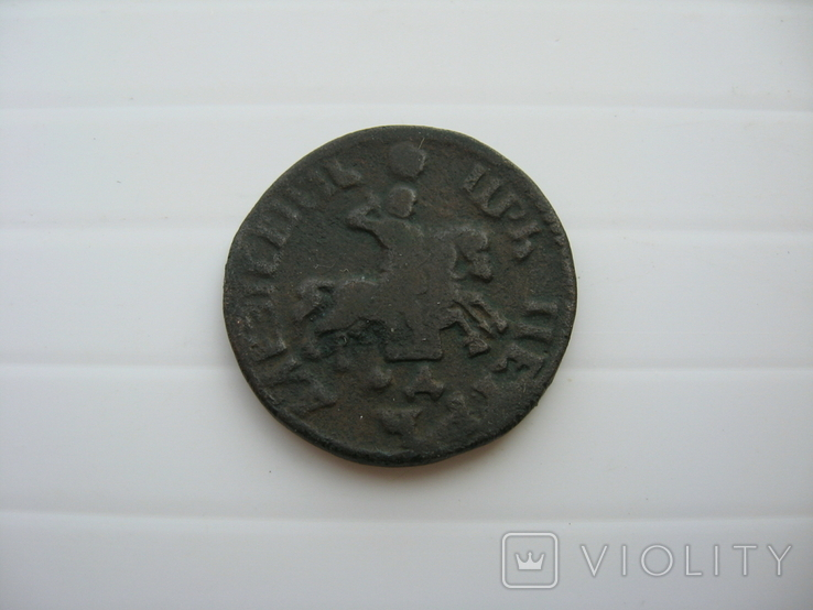 Копейка Петра 1705 год, фото №6