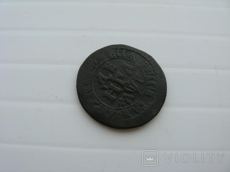 Деньга Петра 1703 год, фото №5