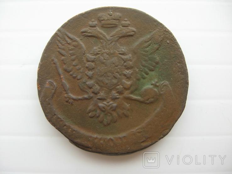 5 копеек Елизаветы 1759 год, фото №2