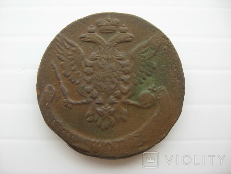 5 копеек Елизаветы 1759 год, фото №3