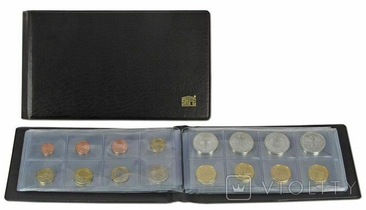 Альбом для монет Safe. Черный.D-763