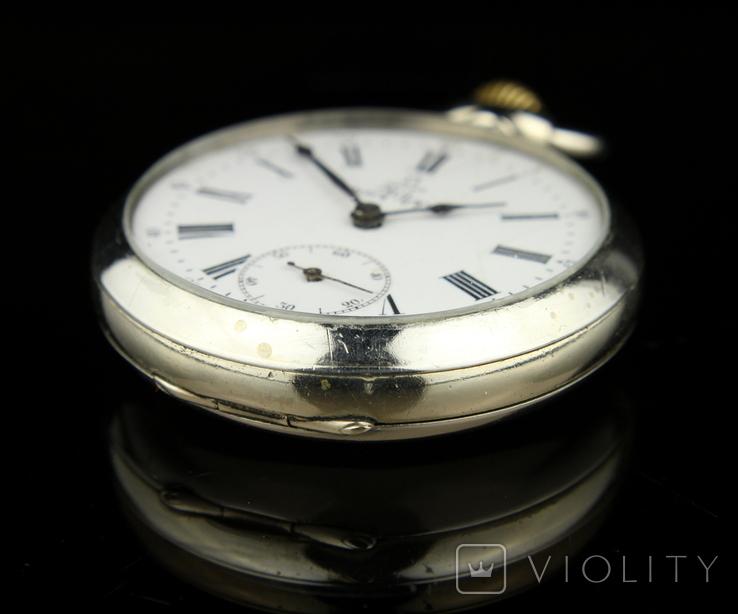 Швейцарские карманные часы Omega 1890-е. Обслужены., фото №4
