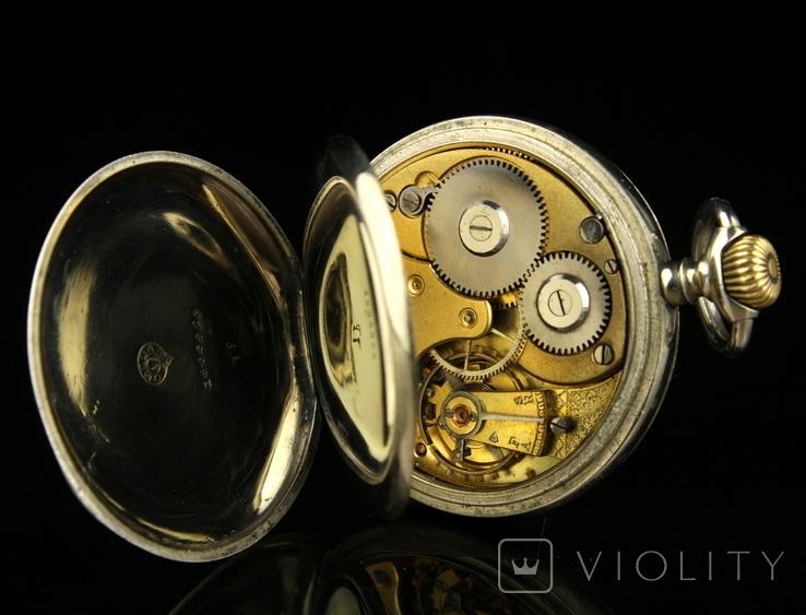 Швейцарские карманные часы Omega 1890-е. Обслужены., фото №13