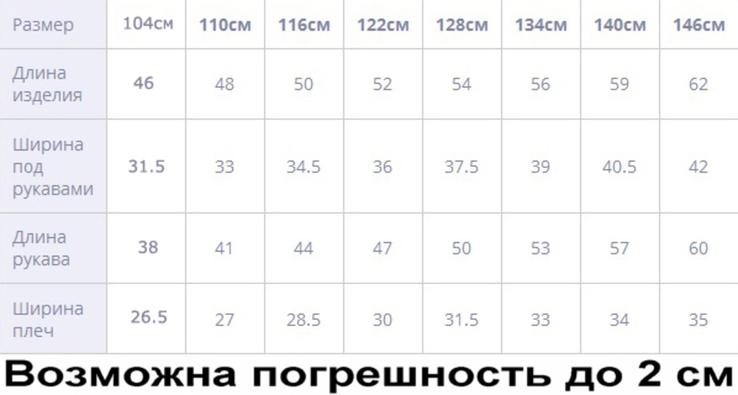 Куртка жилетка Міккі фіолет 110 ріст 1008b110, фото №6