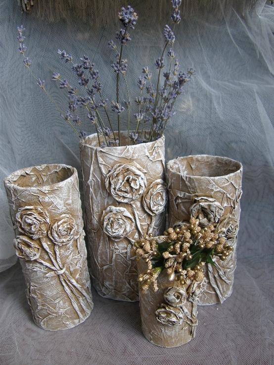 Ваза (подставка) интерьерная для сухоцветов или композиций из искусственных цветов, фото №5