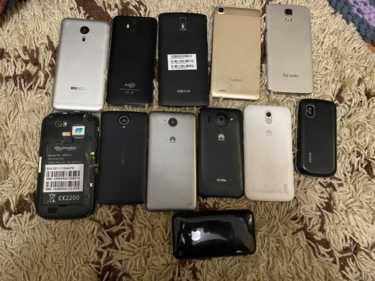 Лот 60 шт смартфонів телефонів + бонуси, фото №2