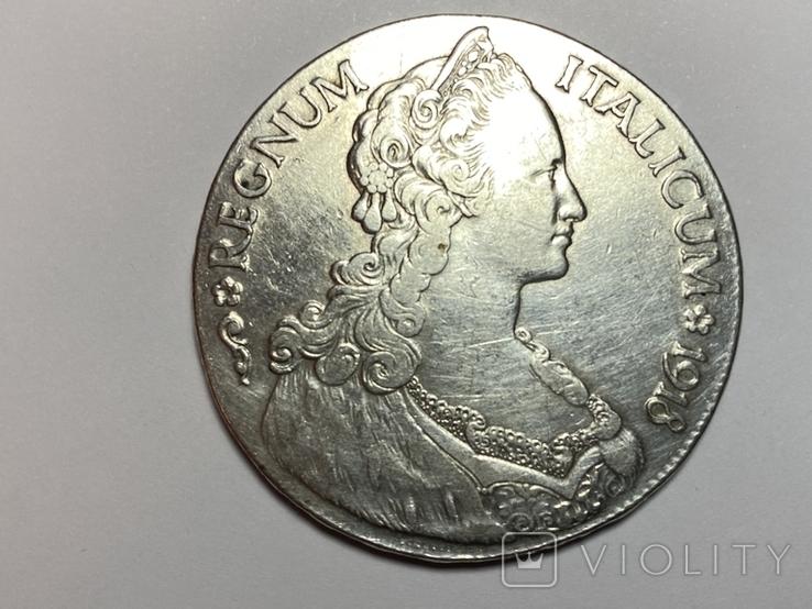 1 талер, 1918 Итальянская Эритрея, фото №2