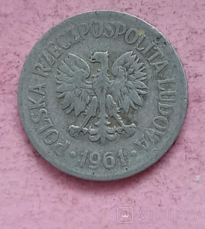 Польша 20 грошей 1961 год, фото №2
