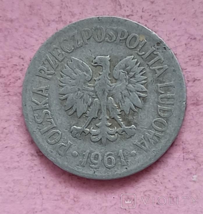Польша 20 грошей 1961 год, фото №4