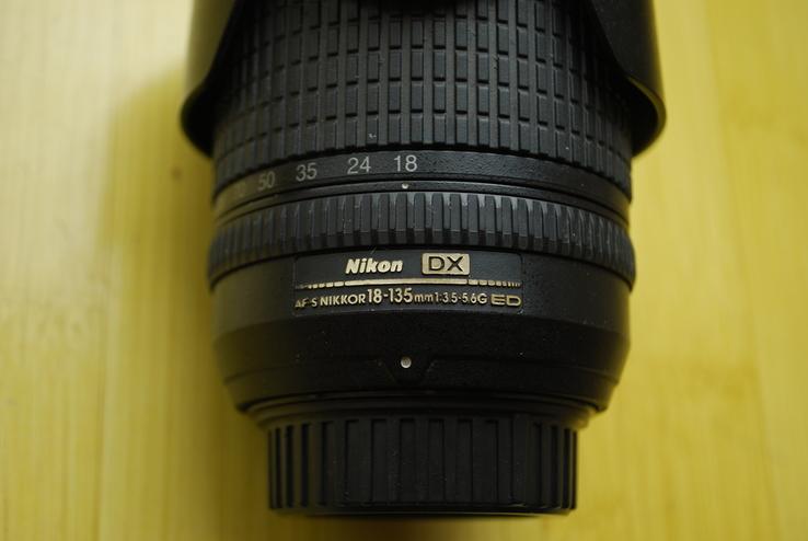 Обьектив nikorr 18-135mm 1:3.5-5.6g ED, фото №9
