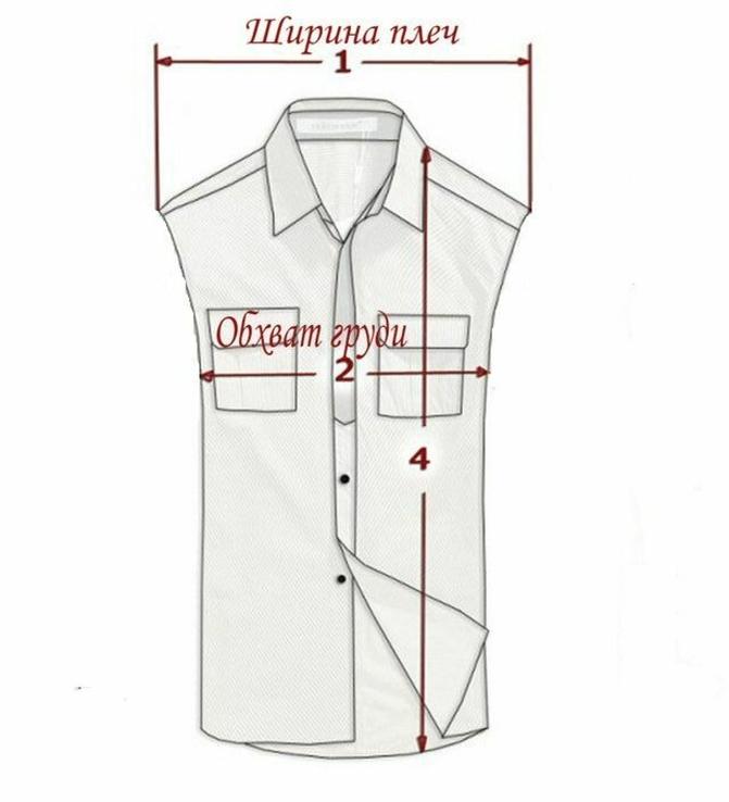 Оригинальный мужской кожаный жилет ECHT LEDER. Германия. Лот 878, фото №6