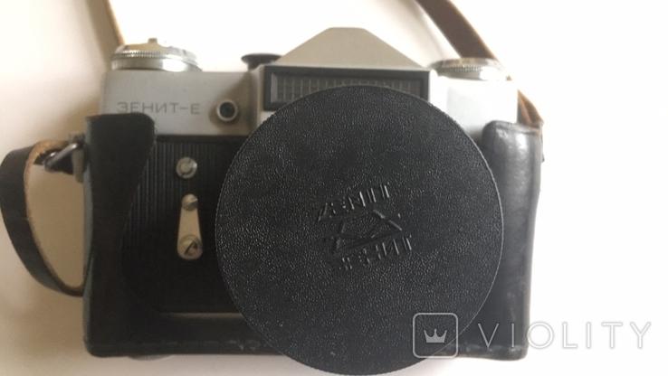 Фотоапарат Зеніт-Е з Фотоспалахом. Об'єктив Геліос 44-2., фото №6