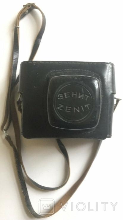 Фотоапарат Зеніт-Е з Фотоспалахом. Об'єктив Геліос 44-2., фото №9