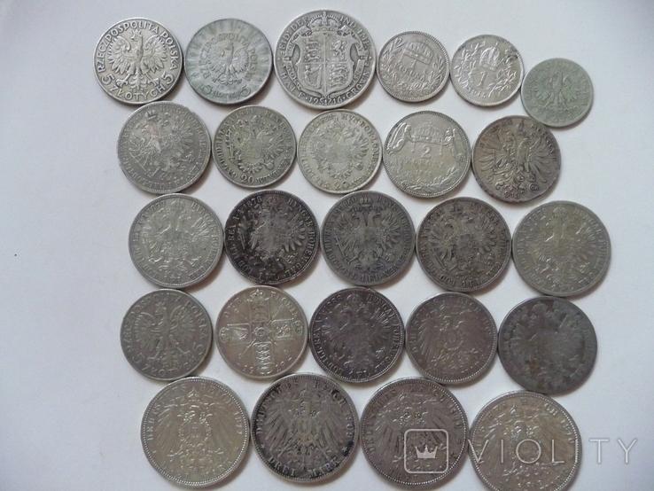25 коллекционных серебряных монет, фото №4
